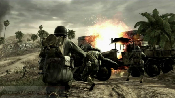 call of duty world of war download for pc