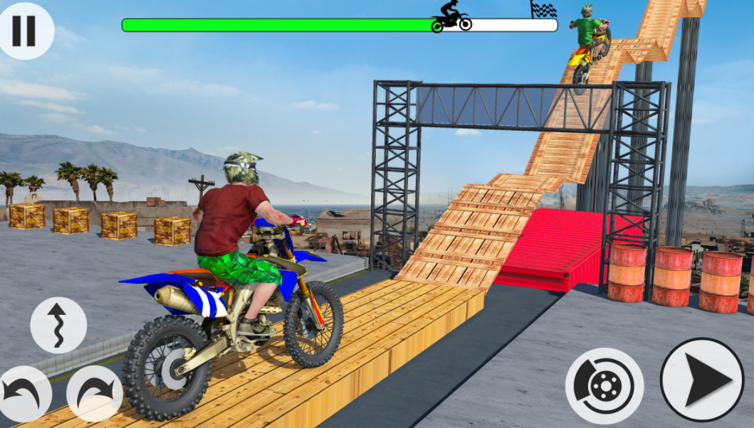angry biker game download free