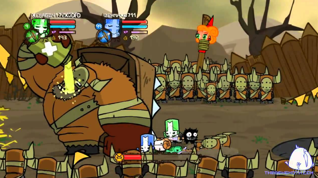 castle crashers free download game
