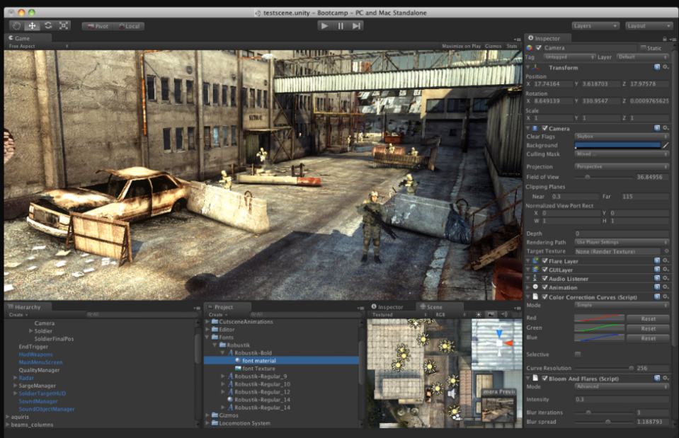 unity game engine download free