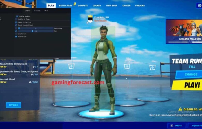 fortnite aimbot download free