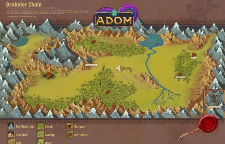 ADOM Download Ancient Domains Of Mystery free