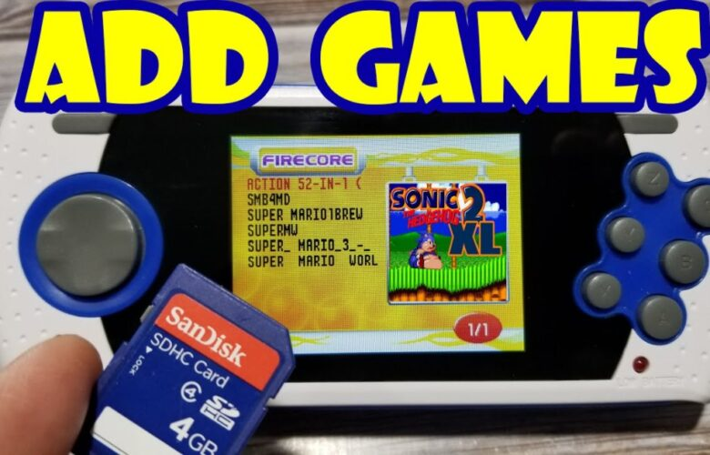 sega genesis ultimate portable game player roms download full