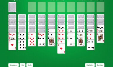 spider solitaire card game download free